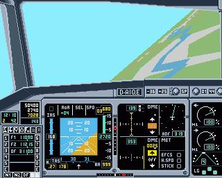 "Amiga 500 bilgisayarda ""Airbus A320"" (1991)"